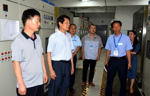 李全营到淄博市中西医结合医院督查安全生产工作
