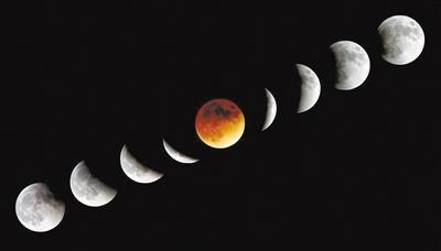 """月食和月相""""傻傻分不清""""? 专家教你看图识天相"""