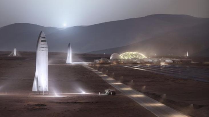 SpaceX公司联合NASA主办登陆火星研讨会