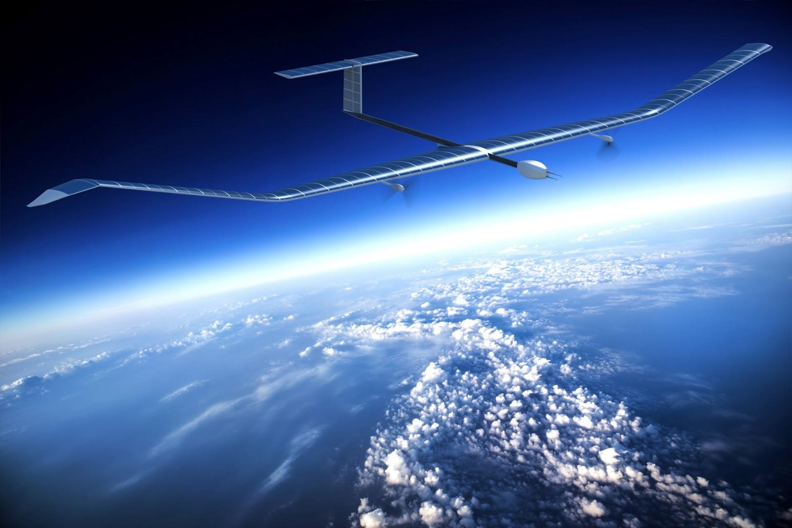 连续飞行超25天 空客新款太阳能无人机首航创纪录