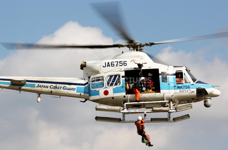 日本一架救灾直升机今失联 机上共搭乘有9人