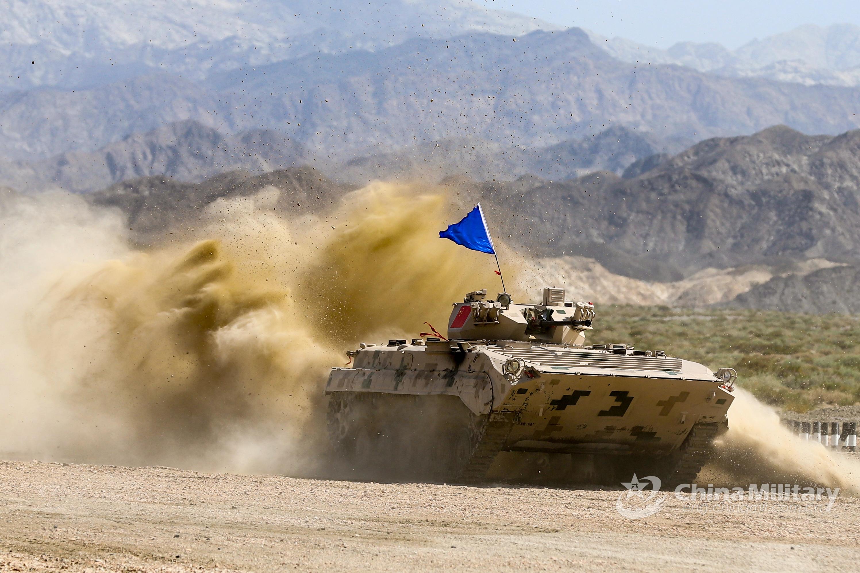 中国完美收官新疆赛区国际军事比赛
