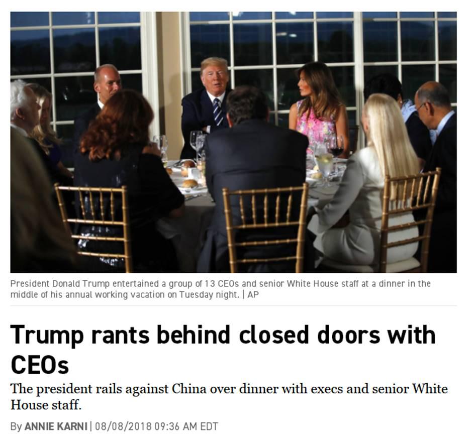 """美国华人联合会发表声明,谴责特朗普""""中国留学生都是间谍""""之说"""
