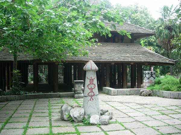 云南民族村特色村寨:布朗族寨