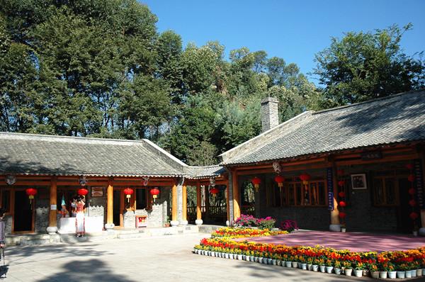 云南民族村特色村寨:满族院