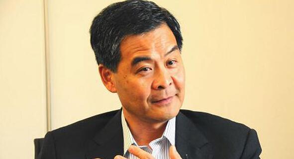 """梁振英斥责""""港独""""破坏内地人民与香港感情 在西方会被列入黑名单"""