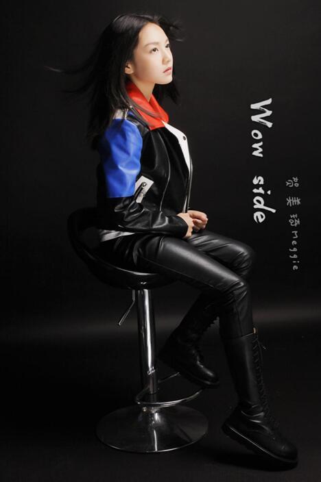 贺美琦作词原创英文单曲Wow side
