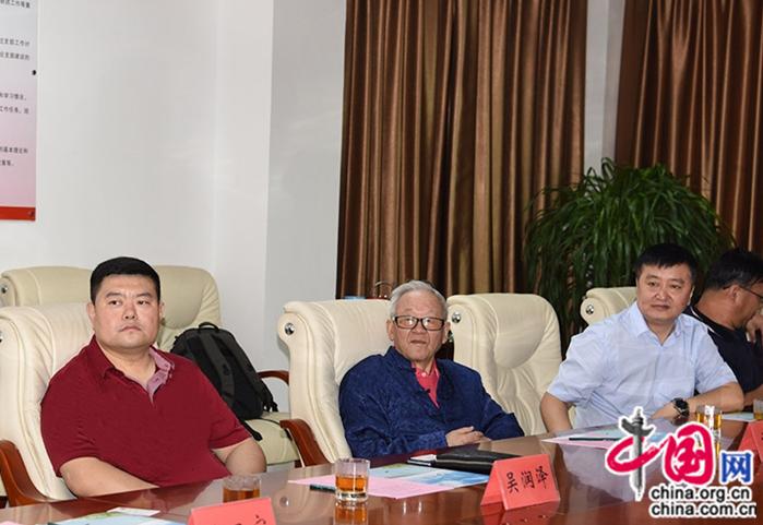 南开大学中共延安五老研究中心与陕西水务集团到宝坻考察