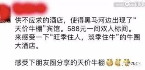"""旺季住人淡季住牛 景区惊现""""牛棚宾馆""""要价588"""