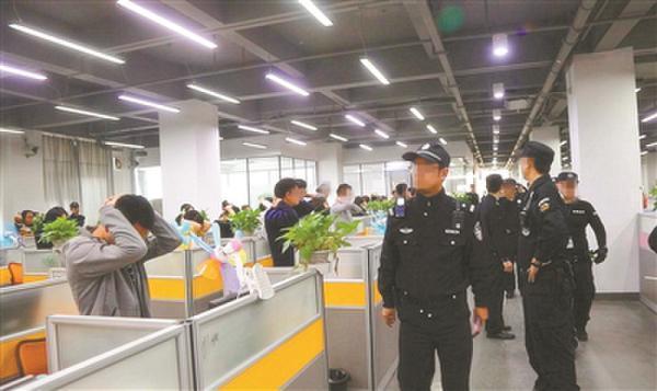 场面震撼!广州一大厦437人上班时集体被警方抓走