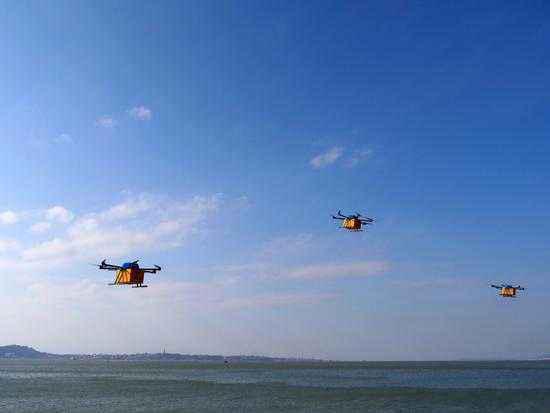 韩军欲打造无人机运输部队 将向前线输送粮食弹药