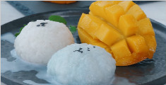 学习芒果糯米饭的制作方法