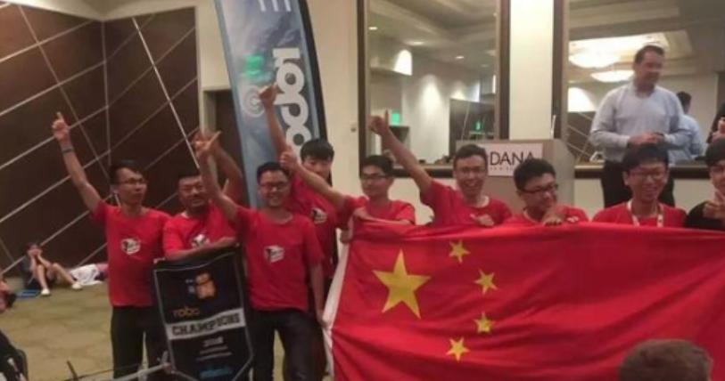首次!中国大学拿下国际水下机器人大赛冠军