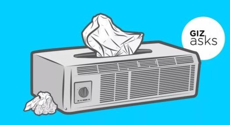 都是吹空调为啥我得了空调病?专家:空调该洗了