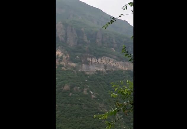 注意!北京房山发生大面积山体塌方