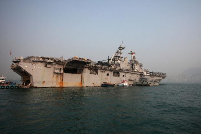 美国海军陆战队一队员菲律宾海域失踪,美军方:搜救仍在继续