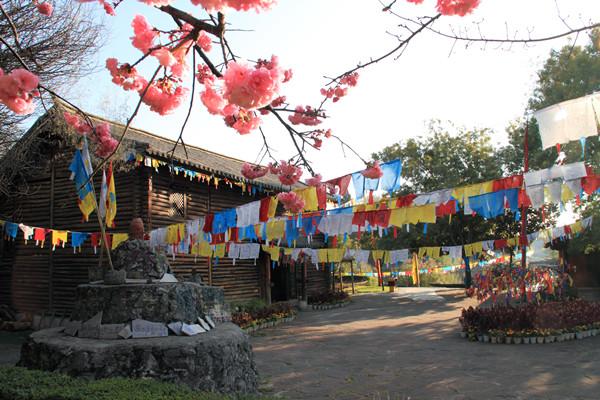 云南民族村特色村寨:摩梭人家
