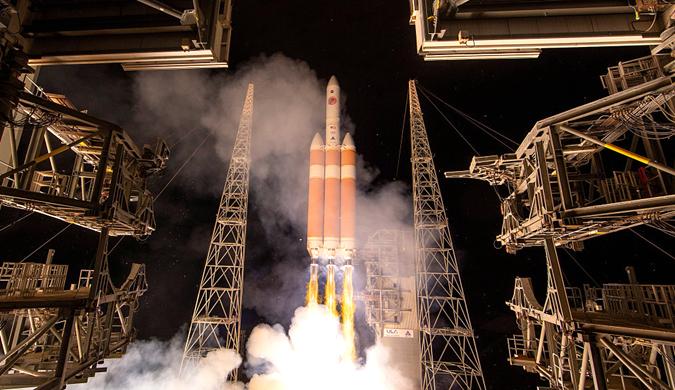 """人类首个""""触日""""探测器升空:史上最热太空任务"""