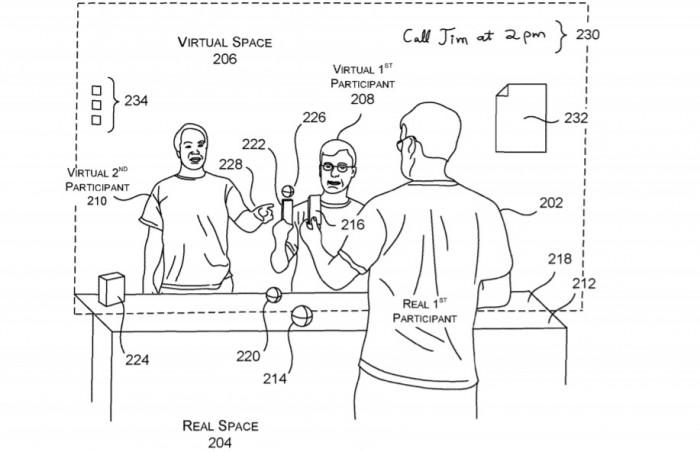 微软获远程沉浸式体验专利 可实现多位置实时交互