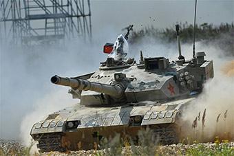 坦克两项赛落下帷幕 中国队数次失误终获亚军