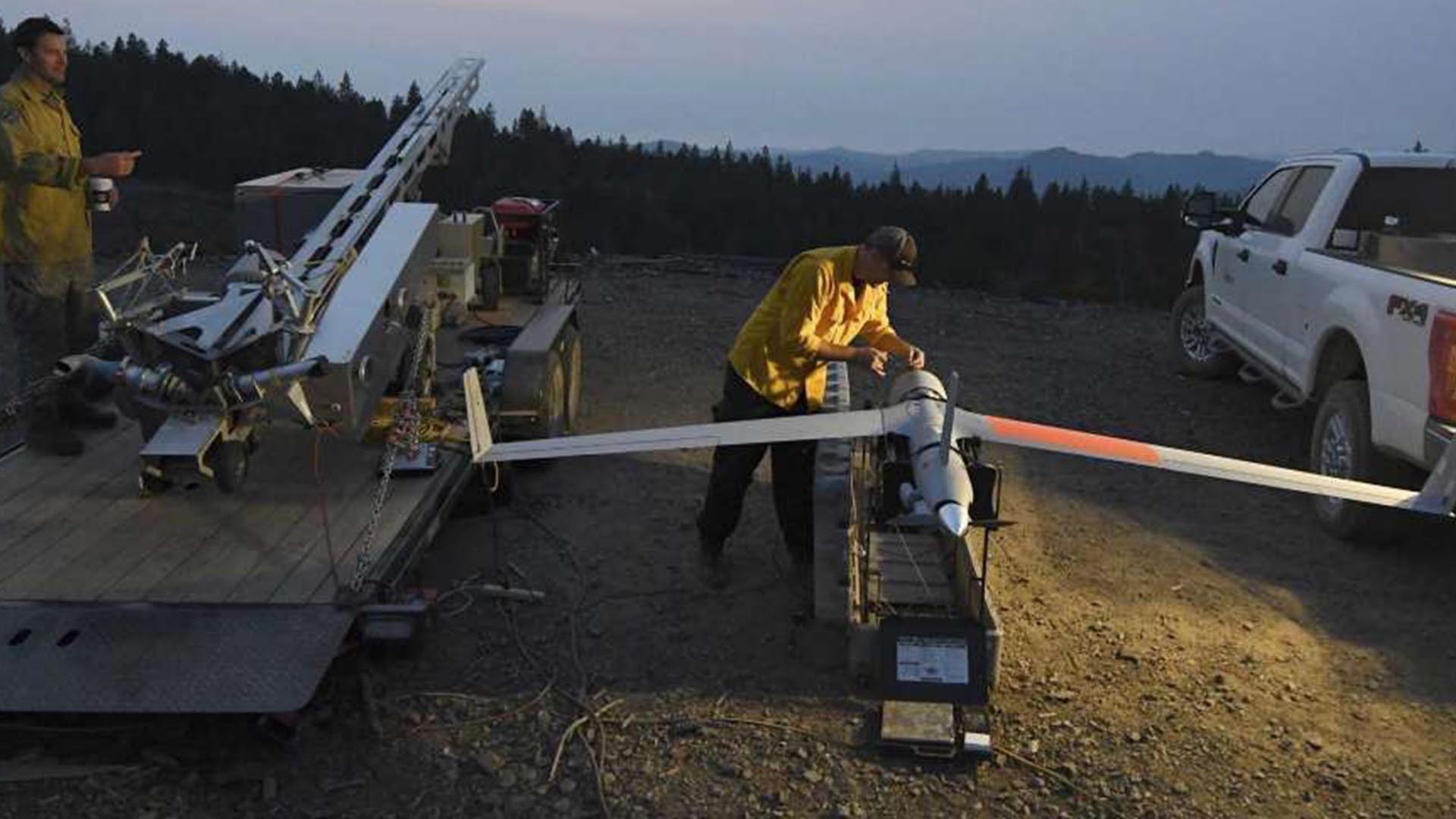 无人机可探测潜在山火 美国南俄勒冈州已广泛运用