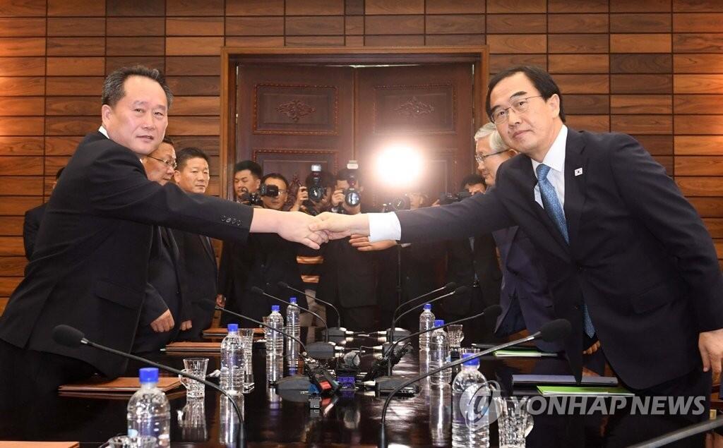 朝高官称朝韩正讨论双方领导人在平壤会晤有关事宜