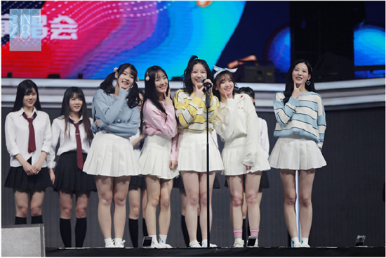 SNH48小组合HO2BLUEV 即将迎出道首秀