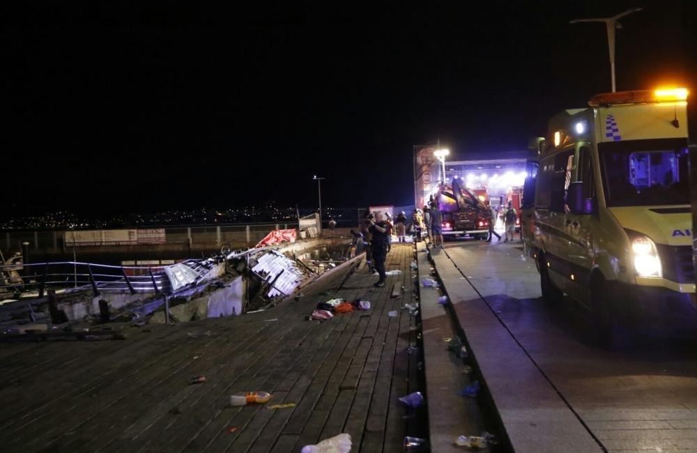 西班牙一音乐会现场发生木结构倒塌 致266伤5人状况严重