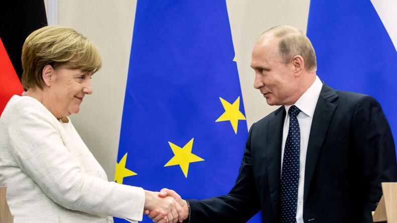 快讯!默克尔与普京将于8月18日在德举行会晤