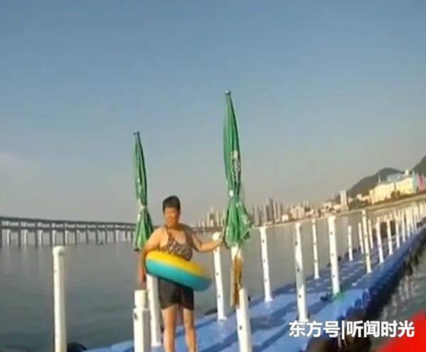 女游客深海漂流15小时获救:刚会游 幸亏套着游泳圈