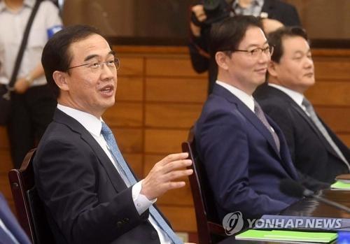 韩国统一部长官:韩朝同心协力定能解决问题