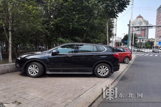 """城市停车难问题凸显:盲道变""""停车场"""" 路在何方?"""