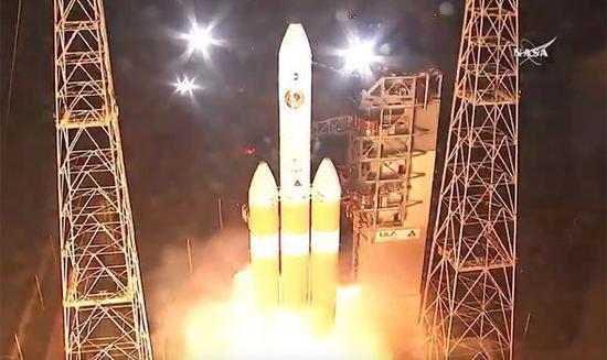 帕克探测器二次发射成功 开启七年太阳探测之旅