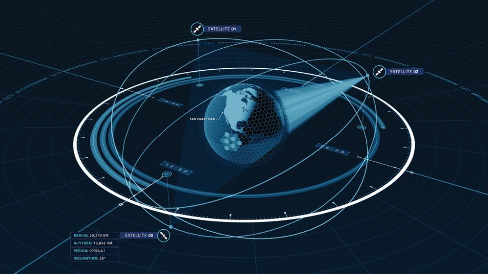 3颗卫星覆盖全球 这家美创企想打造太空互联网