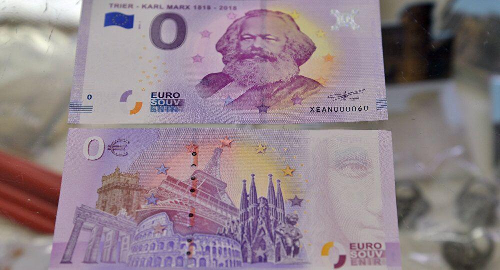纪念马克思诞辰200周年,德国马克思零欧纪念钞热销10万张,1/3卖到中国