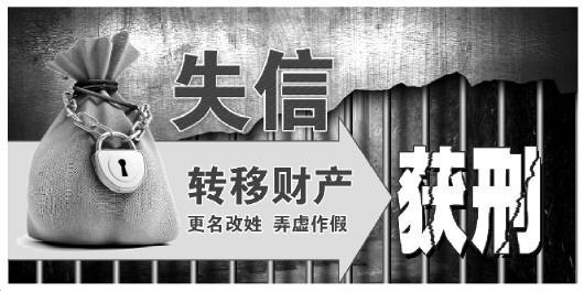 """""""老赖""""夫妻转移4000万财产获刑5年"""