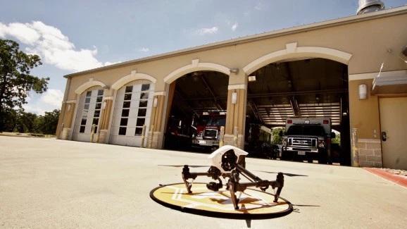 美国已经有数十个消防部门部署无人机