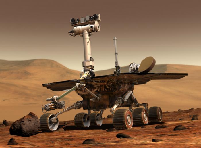 NASA机遇号火星车仍未从火星沙尘暴中苏醒