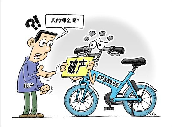 """全国首例共享单车破产案:""""小鸣单车""""用户的""""199元押金""""能否收回"""