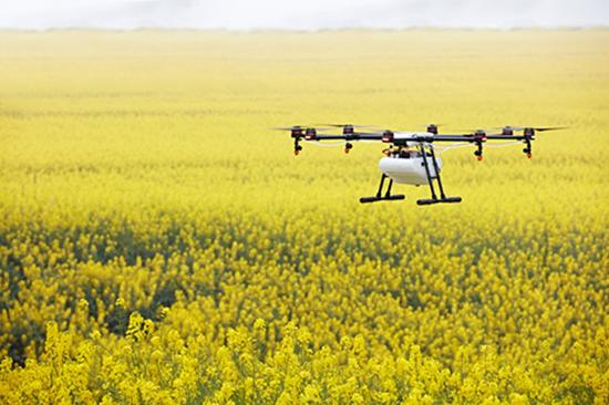 孟山都精准农业:无人机帮助农民减少水资源利用