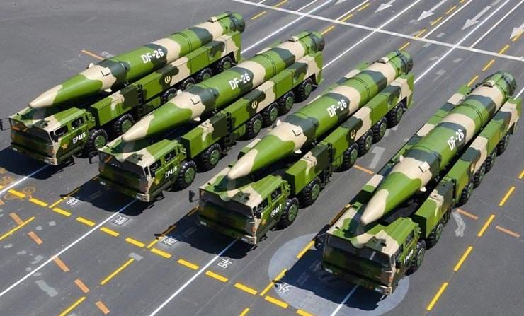 俄媒:伊斯坎德尔导弹可学中国东风26用来打航母