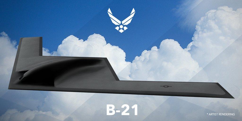 美国7千多亿军费怎么花:留钱造B-21隐形轰炸机