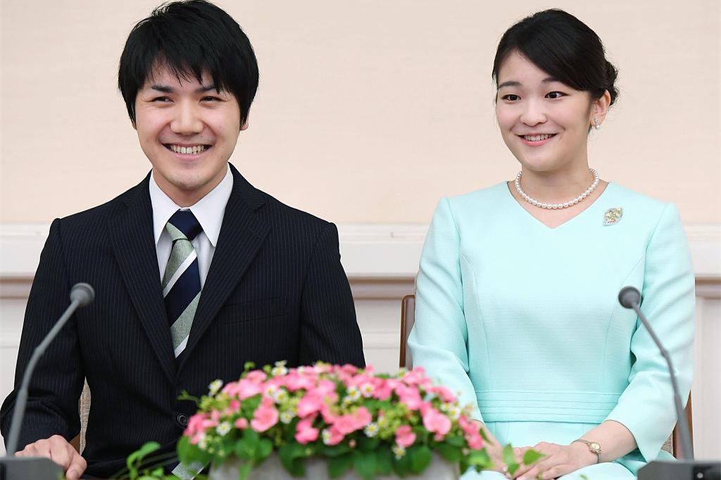 日本真子公主与未婚夫婚期成谜 男方正式赴美留学