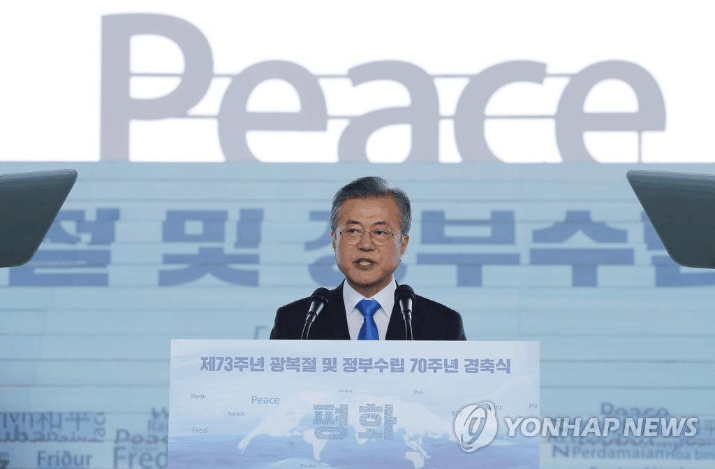 """文在寅:朝韩和平扎根后办""""跨境经济特区"""""""