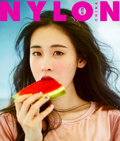 张碧晨《NYLON》杂志封面 元气少女解锁清凉一夏