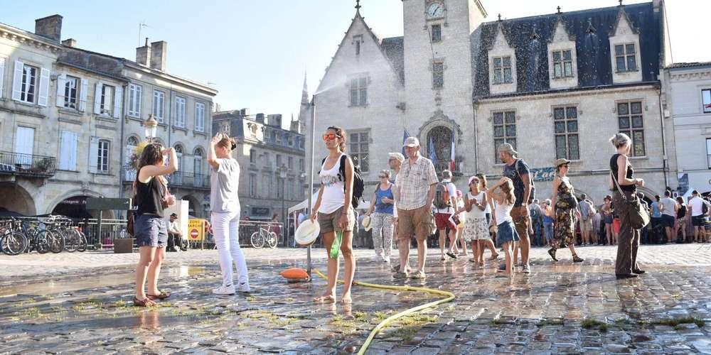 法国熬过高温天气 医疗部门防暑工作效果显著