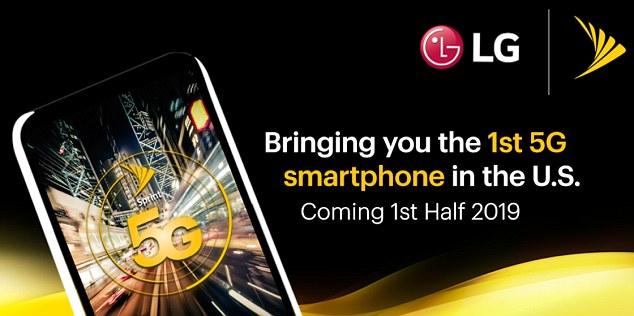 Sprint将联手LG于2019年推出首款5G智能机