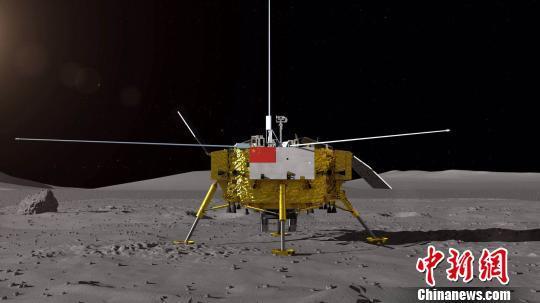 嫦娥四号月球车全球征名 探测器公布外观设计