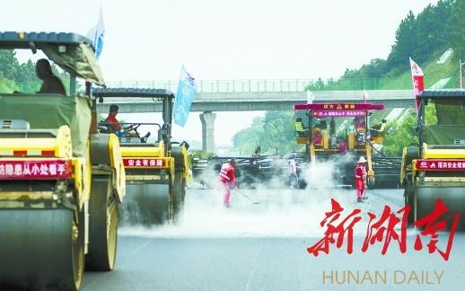 """湖南亮出交通民生""""进度表"""" 2021年实现14个市州通高铁"""