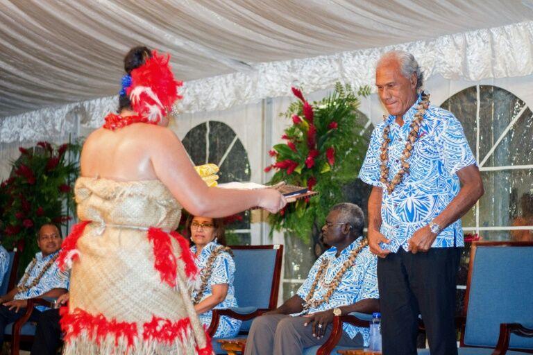 汤加总理向太平洋岛国领导人提出减肥挑战